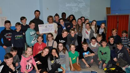 Kinderen op uitstap dankzij vriendenkring GBS Huizingen