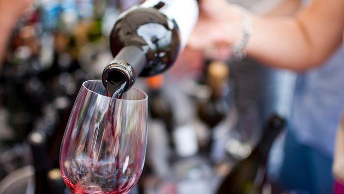 Een goed glas wijn.