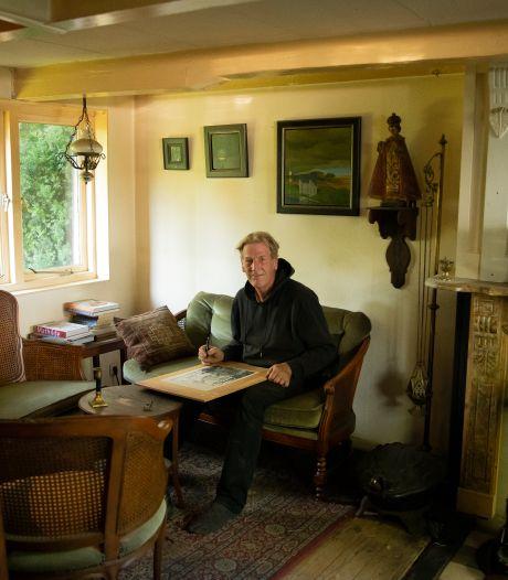 Roeland brengt zijn huisje (bijna) helemaal terug in oude stijl: 'Ik ben in de verkeerde tijd geboren'