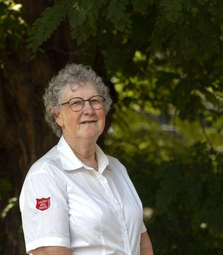 Nog geen geraniumtijd voor kapitein Anne Stastra van Leger des Heils in Eindhoven