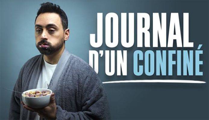 "Tout au long du premier confinement, Pablo Andres tenu son ""Journal d'un confiné"""