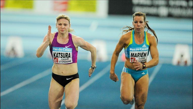 Ex-atlete Hanna Mariën probeert het nu in het bobslee Beeld UNKNOWN