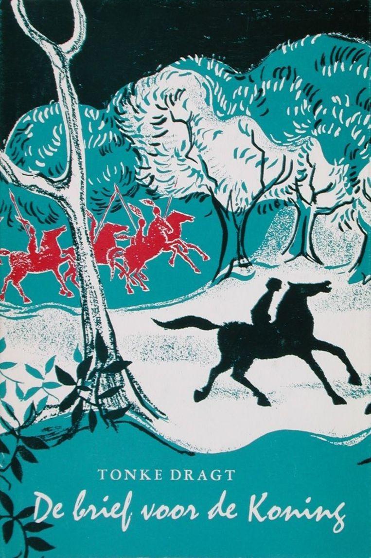 Uitgeverij Leopold, eerste druk, 1962. Omslagillustratie Tonke Dragt. Beeld