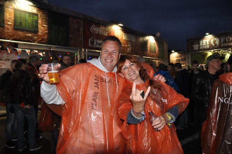 Dirk Vlaeminck (52) kwam samen met goede vriendin Chris Vermeulen naar de Lokerse Feesten.