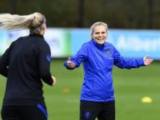 Wiegman wil duel met VS gebruiken voor wedstrijden tegen België en Duitsland: 'Heel blij met die wedstrijd'