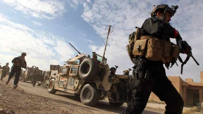 Entraînement des forces spéciales irakiennes