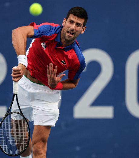 Novak Djokovic en huitièmes sans problème