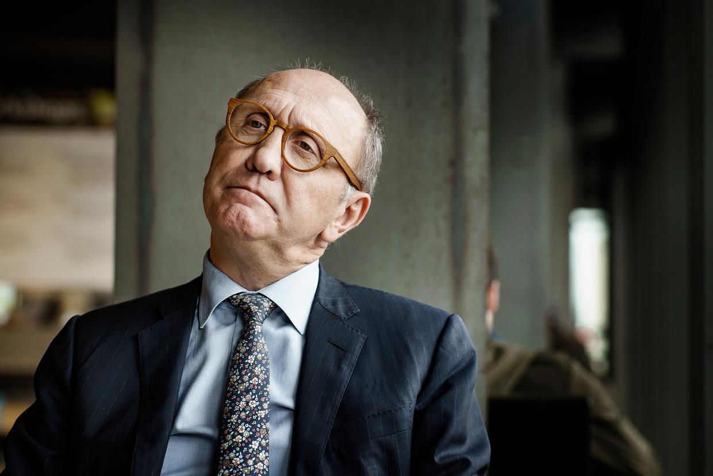 'Zonder de val van de regering, zaten we nu met een voortzetting van de Zweedse coalitie, aangevuld met cdH.' Beeld Eric de Mildt