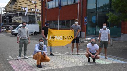 Jong N-VA wil regenboogzebrapad in Zandhoven