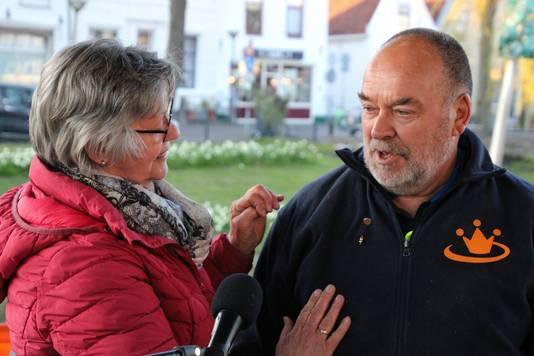 Wim Moree en zijn vrouw