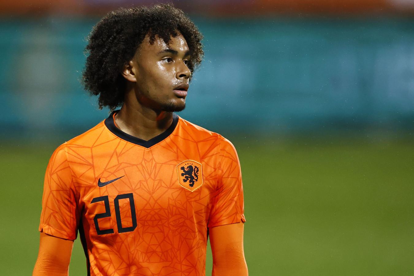 Zirkzee bij de Nederlandse U21.