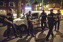 De politie onderzocht in de omgeving van de Maassilo een Spaans busje.