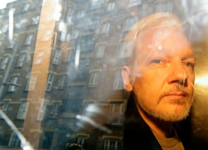 Julian Assange zit momenteel vast in het Verenigd Koninkrijk