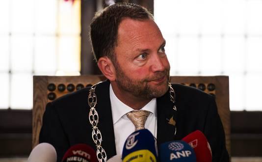 Burgemeester Milo Schoenmaker