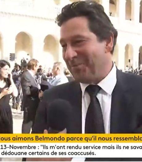 Hommage à Belmondo: Laurent Gerra remballe un journaliste après une demande inappropriée