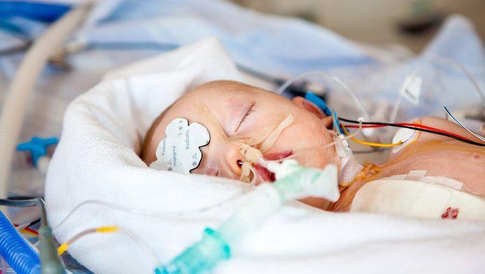 Baby's met een hartafwijking worden elk jaar geboren