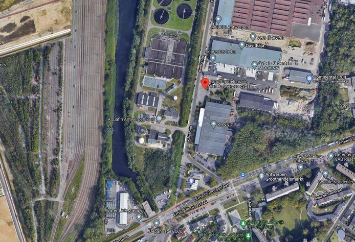 Het bedrijventerrein rond de Groothandelsmarkt op het Kiel wordt heringericht.