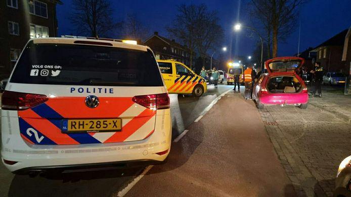 Het ongeluk gebeurde op de Breemarsweg.
