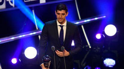 """FIFA bekroont Thibaut Courtois: Rode Duivel is beste doelman ter wereld: """"Ik ben trots en gelukkig"""""""