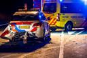 De plek van het ongeval op de A270 tussen Eindhoven en Helmond.