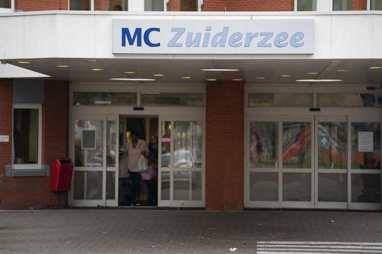MC Zuiderzee in Lelystad is een van de ziekenhuizen in financiële problemen.  Beeld ANP