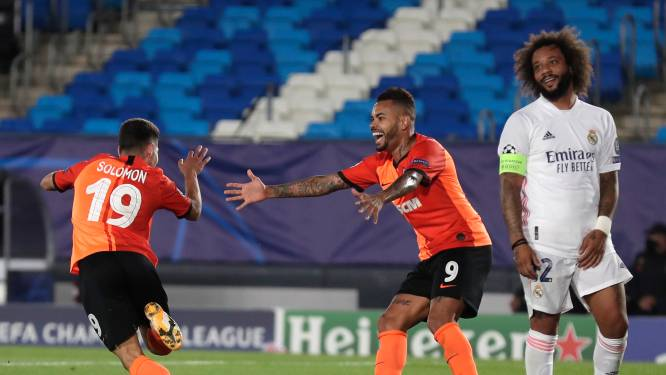 Real beleeft pijnlijke CL-avond in aanloop naar Clásico, Lokomotiv pakt punt in Salzburg