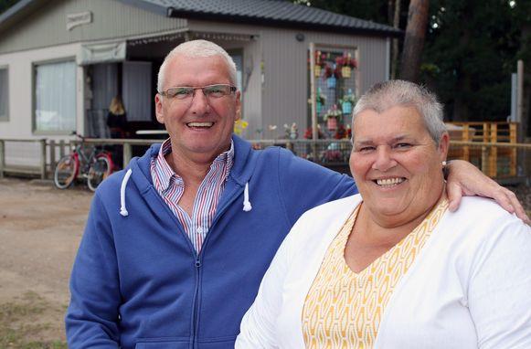 Albert en Marina verblijven al bijna hun hele leven op het Campinastrand te Dessel.