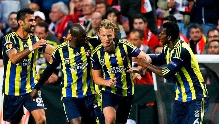 Geen Europees voetbal dus voor Fenerbahçe. Beeld EPA