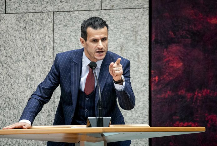 Farid Azarkan (Denk) in de Tweede Kamer afgelopen week.