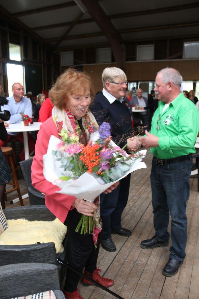 Rijvereniging De Ruif nam zaterdag afscheid van Jos en Corrie Pijnenburg-van de Pas