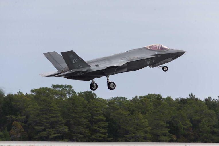 De F-35 Joint Strike Fighter, de beoogde opvolger van de F-16. Beeld ANP