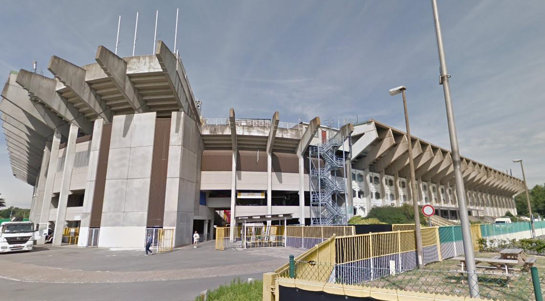 Het stadion van Club Brugge.
