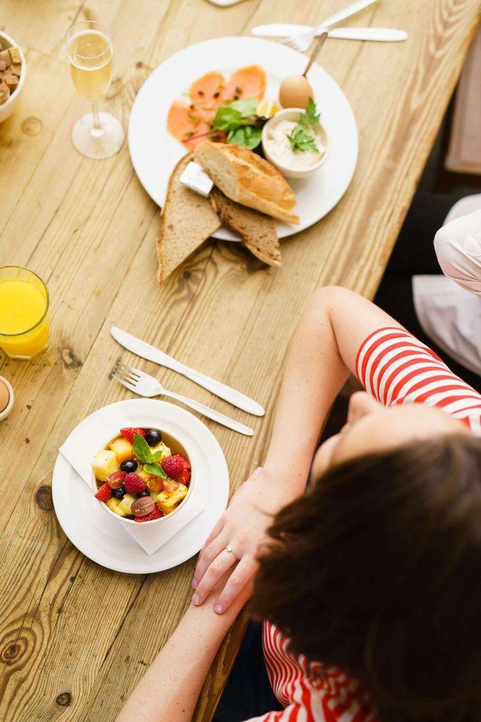 """La formule petit-déjeuner """"Manhattan"""" et la salade de fruits"""