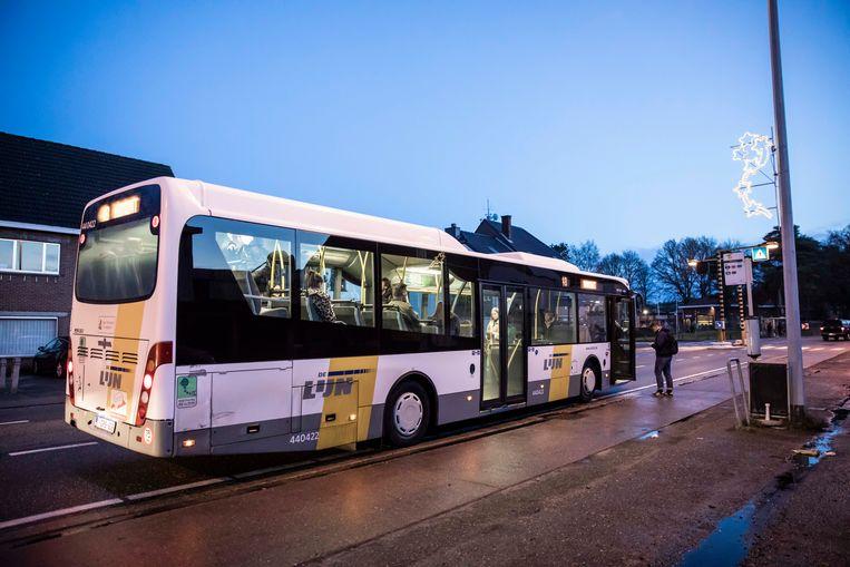 En daar is de bus dan toch!