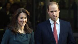 Prins William en Kate Middleton voor het eerst weer in openbaar sinds 'Megxit'