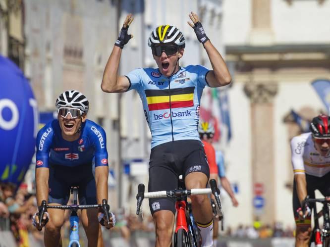 """Amper 18 en al Europees beloftenkampioen: hoe goed wordt Thibau Nys? """"Nog nooit iemand van die leeftijd met zulke sprintwaarden gezien"""""""