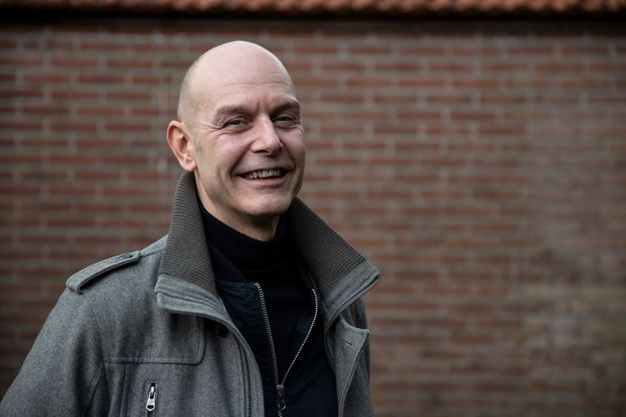 Peter de Vroet (49) uit Zutphen. Buurtbemiddeling was er voor nodig om het afgelopen jaar een ruzie met zijn nieuwe buren op te lossen.