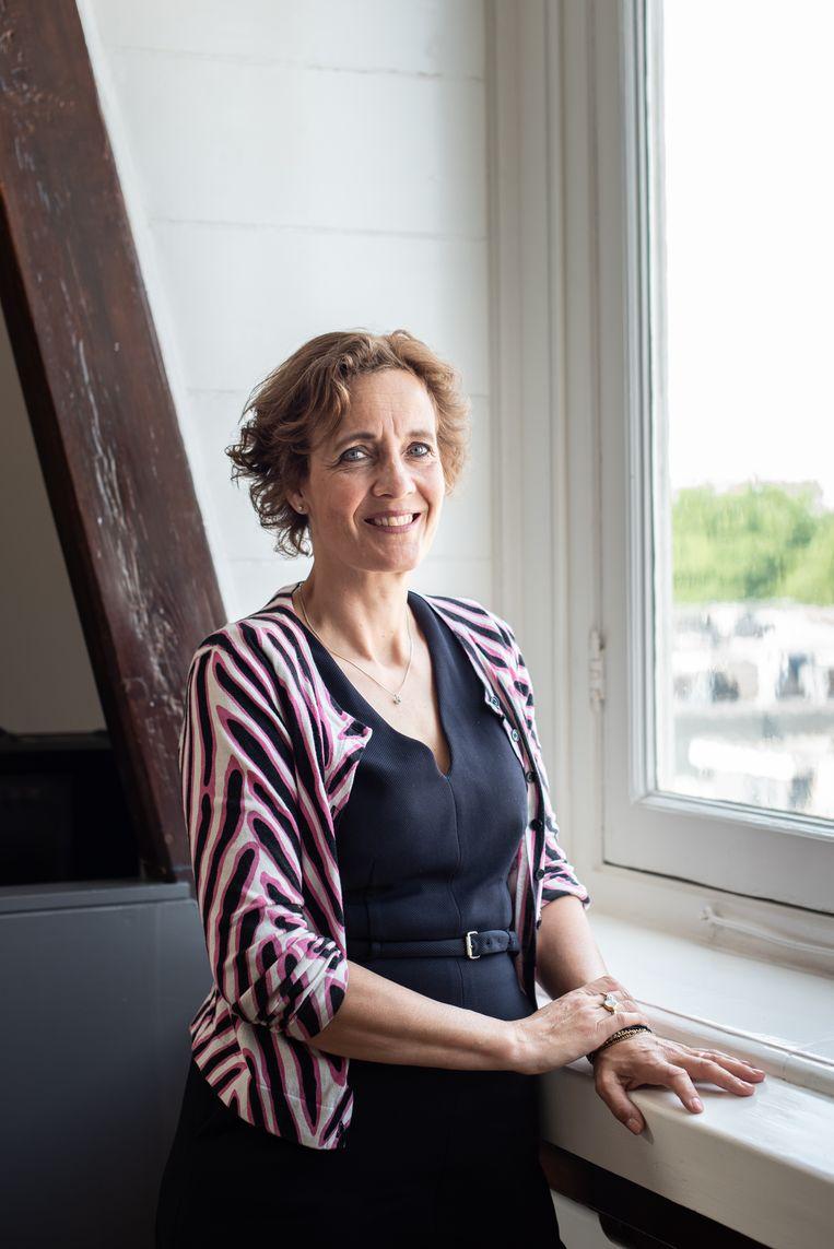 Charlotte Dingemans. Beeld Simon Lenskens