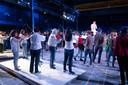 Uitvoering programma 'Empty Minds' in het Klokgebouw in Eindhoven door Philharmonie Zuidnederland.