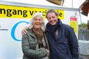 ldm01/05-2021 - Middelburg - vaccineren - Els Dekker en Hans Quast uit Koudekerke