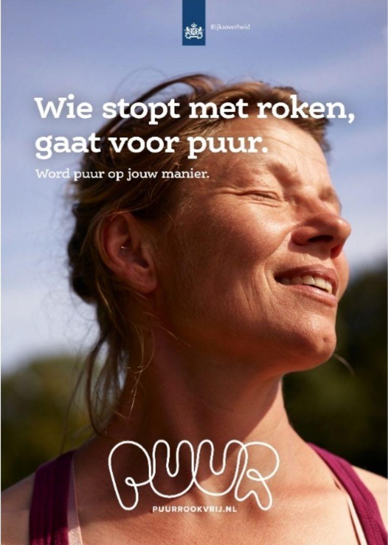 Beeld uit de nieuwe overheidscampagne voor stoppen met roken. Beeld Ministerie van Volksgezondheid