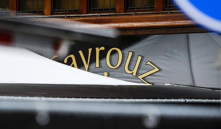 De shishalounge Fayrouz aan de Amstelveenseweg. Beeld anp