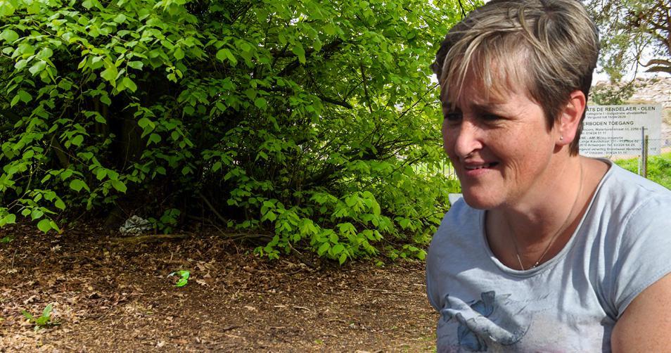 Het lichaam van verpleegster Christine Lenaerts werd in een bos langs het kanaal gevonden.