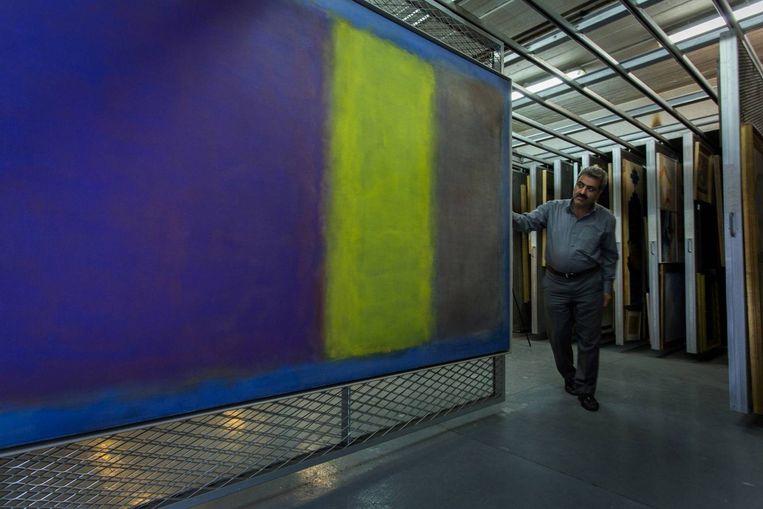 Een van de werken uit de collectie. Beeld Jörg Gläscher / Art Magazin