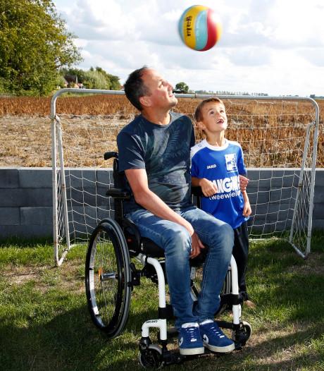 Oud-voetballer Van Troost heeft MS, maar zit niet bij de pakken neer