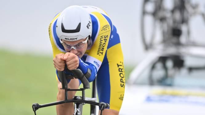 """Rune Herregodts sluit seizoen af in Ronde van Drenthe: """"Gedwongen rust heeft me deugd gedaan"""""""