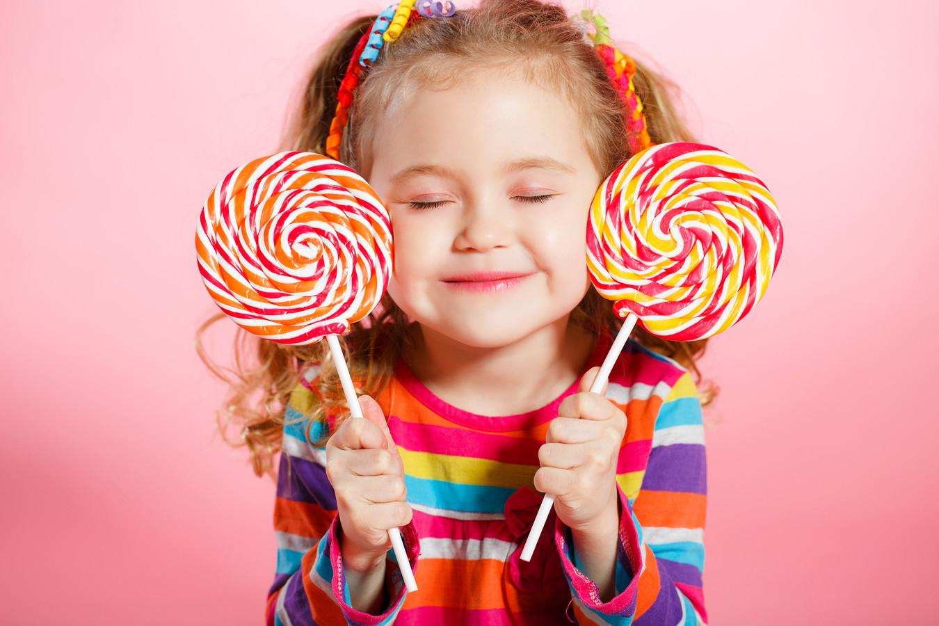 Kinderen houden van nature van zoet.
