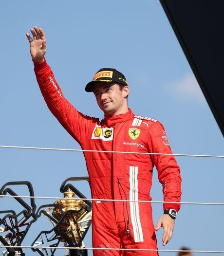 Leclerc kan stunt net niet voltooien: 'Het was een kwestie van tijd'
