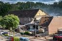Gasexplosie in Hillekensacker. Dgfoto Foto: Bert Beelen