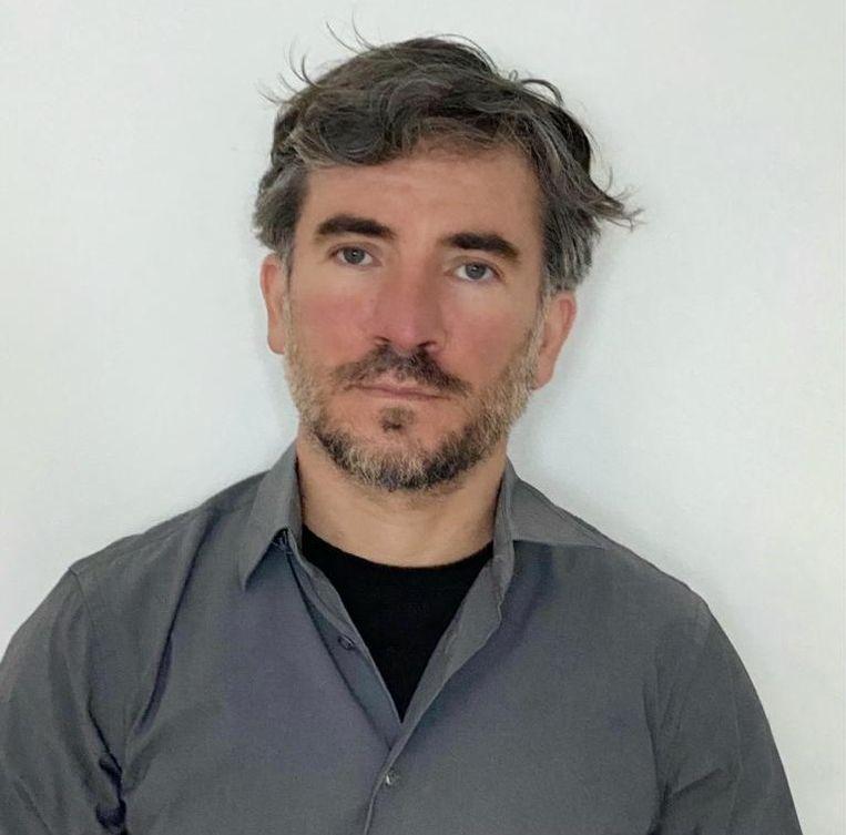 De Portugese sportjournalist David Andrade schrijft voor de krant 'Publico'.  Beeld rv